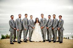 bride with groomsmen/groom with bridesmaids