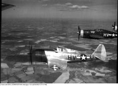 USAAF 43 25555 P 47D Thunderbolt 8AF 56FG61FS