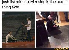 Twenty One Pilots, Twenty One Pilot Memes, Tyler Joseph, Tyler And Josh, Emo Bands, Music Bands, Camilla, Joshua William Dun, Screamo