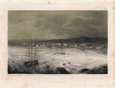 """""""La caldera"""". Viaggio nel Deserto di Atacama (Cile) del 1853-54. #viaggi #cile #atacama #esplorazioni #illustrazioni"""