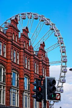 Leeds, England - it's a while since the wheel was there, but wheel remember it fondly (ha! See what I did there!?)