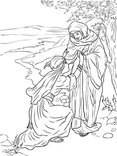 sunday school coloring pages ruth and naomi coloring pages pinterest school colors and sunday school