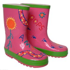 Paint Your Own Funky Rain Boots Kit