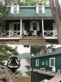 7 decades, 4 generations of cottagers on Edith Island, Lake Rosseau Maine Cottage, Boathouse, Lake Superior, Cabin Fever, Camps, Cottages, Fantasy, Island, House Styles