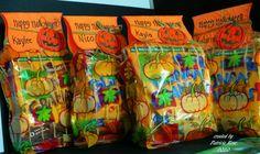 Halloween Treat Bags Clear