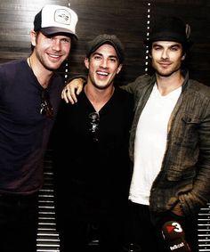 The vampire diaries - Damon, Tyler, and Alaric