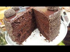 Torta brigadeiro de chocolate y leche condensada - YouTube