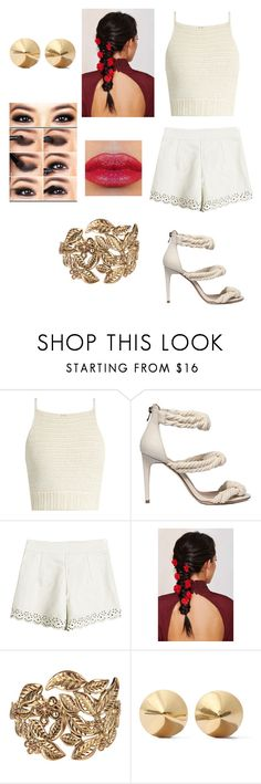 """Untitled #442"" by lexi-pierce123 ❤ liked on Polyvore featuring SHE MADE ME, Rock 'N Rose, Jane Norman and Eddie Borgo"