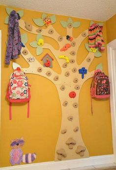 Climbing wall for kids. More