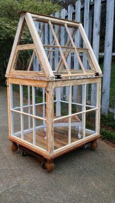 Tropical Garden Design Little Glass House 3 - Modern Diy Greenhouse Plans, Window Greenhouse, Small Greenhouse, Greenhouse Gardening, Tropical Garden Design, Home Garden Design, Modern Garden Design, Interior Garden, Garden Junk