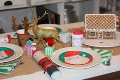 Bonecas de Papel: Mesa de Natal #somosbonecasdepapel