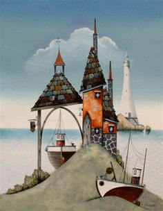 gary walton artwork | Gary Walton artist, paintings and art at the Red Rag Modern Art ...