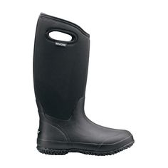 The Bogs® Classic High Handles is the perfect boot to handle anything your day may bring. Constructed with durable hand-lasted rubber. 7mm waterproof Neo-Tech™ insulation. Comfort-rated from temperate to -40°F. Easy-on pull handles. Fun and stylish colors up the ante so that you can look as good as your feet feel.