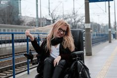 #wheelchairfashion #fashion #rockfashion #sexygirl #polishgirl http://www.Vamppiv.pl