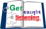 Get Caught Listening - June is National Audio Book Month!  Check out our Audio Books and have a good listen!
