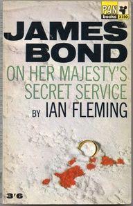 On Her Majesty's Secret Service - James Bond Book Covers