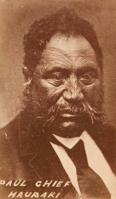 Portratit of Chief Hauraki, century. Maori Face Tattoo, Maori Tattoo Meanings, Ta Moko Tattoo, Once Were Warriors, Nz History, Maori People, Maori Art, Tattoo Life, Historical Pictures
