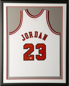 7b8086a61 Michael Jordan Chicago Bulls Framed Autographed 1997-98 Mitchell   Ness  White Jersey - Upper Deck
