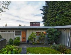 North Vancouver Mid-Century Post and Beam house for sale in Canyon Heights. C. 1951 Click Photo to view details