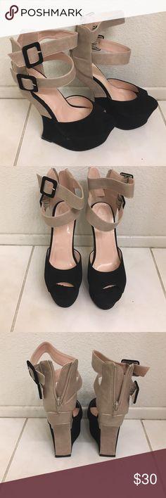 Spotted while shopping on Poshmark: Joha concave colorback platform heels! #poshmark #fashion #shopping #style #Liliana #Shoes