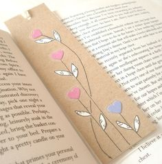 Handmade Bookmark with Collaged Illustration £3.50