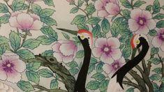 제6회 대한민국 전통채색화 공모대전 입상작과 특별 초대작가전 : 네이버 블로그 Korean Art, Asian Art, Painting, Blog, Illustration, Leaves, Painting Art, Paintings, Blogging