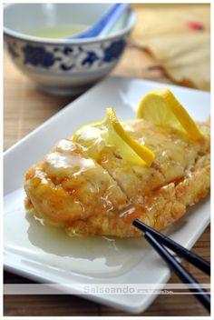 Salseando en la cocina: Pollo al limón (cocina china)