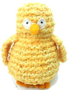 How to make Yellow Chick - DIY Craft Project with instructions from Craftbits.com