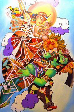 Durga Puja....... When Kolkata Transforms into An Art Gallery   by pallab seth
