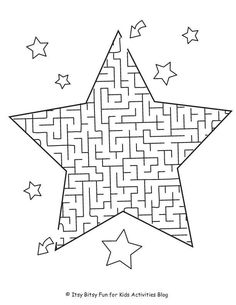 Christmas Worksheets, Christmas Activities For Kids, Spring Activities, Worksheets For Kids, Kids Christmas, Preschool Printables, Preschool Activities, Mazes For Kids, Calming Activities