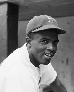 First African American to play in a Major League Baseball in the modern era. He broke the baseball color line when the Dodgers started him at 1st base.