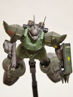 "Custom Build: HGUC 1/144 Gelgoog Marine ""detailed"" - Gundam Kits Collection News and Reviews"