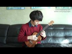 "Sungha http://www.sunghajung.com arranged and played ""Somebody  That I Used To Know"" by Gotye."