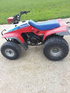 Bf Bec A F on 1986 Honda 200sx Fourtrax Parts