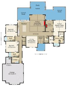 230 Amazing Home Plans images in 2019 | Floor plans, Home