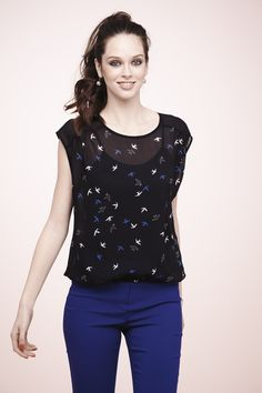 So cute just bought it! Office Wear, Polka Dot Top, Casual Wear, Cami, Womens Fashion, Fashion Trends, Formal, My Style, Pretty