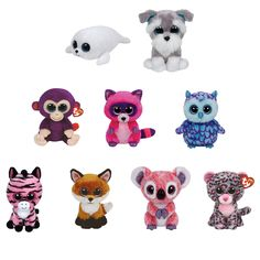 TY Beanie Boos - SET of 9 2015 SPRING Releases (Regular Size - 6 inch) (Pre-Order ships Spring)