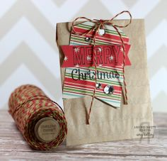 Reverse Confetti | Bring on the Merry, Tinsel 'n Trim [Holiday, Christmas Tag]