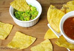 Homemade Tortilla Chips - Perfect for Cinco De Mayo!!!  theDealyo.com
