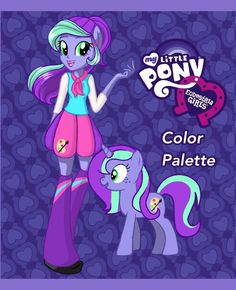 Equestria Girls OC: ColorPalette by Colorpaletpony