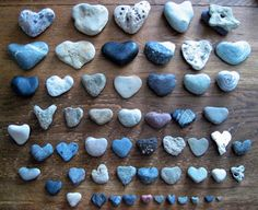We search for heart shaped beach pebbles Broadkill Beach Great for Sea Glass Hunting!