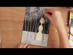 Paper Doll Tutorial: with Carla Sonheim - YouTube