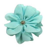 Bachelor Button - Flower - Chiffon - approx. 3""