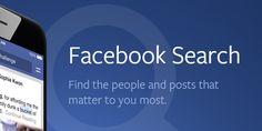 """Fra conferme e smentite, del motore di ricerca di #Facebook se ne sente parlare dal lontano 2012. Un annetto dopo fu annunciato #GraphSearch, e si capì subito che non sarebbe stato un rivale di Google, ma solo """"un nuovo modo per trovare su Facebook persone, foto, luoghi e interessi che sono rilevanti per te"""". Da qualche settimana, però, la pagina di Graph Search fa un redirect verso #FacebookSearch, all'indirizzo search.fb.com.  #search #facebooktips"""