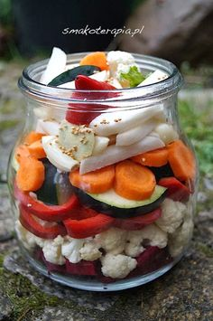 KISZONE WARZYWA :D - Smakoterapia Fruit Recipes, Vegetable Recipes, Vegan Recipes, Slow Food, Fermented Foods, Canning Recipes, No Cook Meals, Easy Cooking, Food To Make