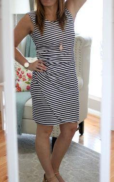 42668b7e84b2 Love this Market & Spruce Carl Ruched Knit Striped Dress! Kristin Melissa · My  Stitch Fix