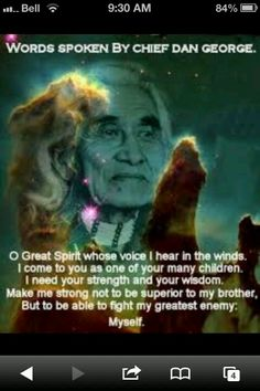 Chief Dan George ...