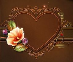 рамка (подушка) с сердцем и цве, оригинал