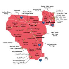 This Map Shows Florida State Parks In Northwest Florida