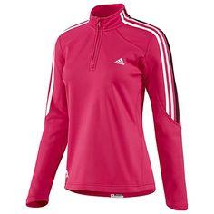 adidas Pink Ribbon Half-Zip Fleece Top